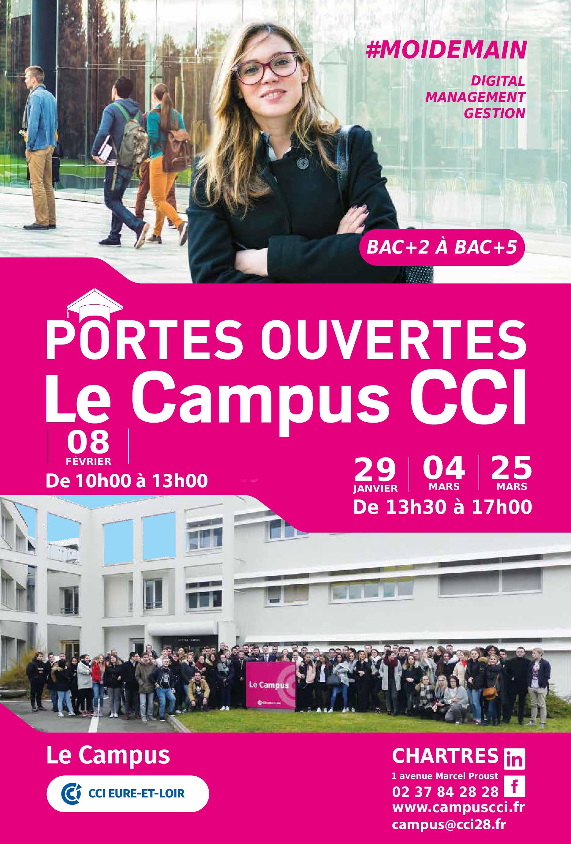 portes ouvertes journées campus cci28